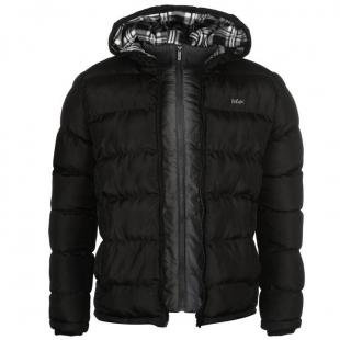 Pánská bunda Lee Cooper 2 Zip - Černá