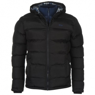 Pánská bunda Lee Cooper 2 Zip - Navy