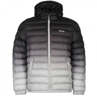Pánská Lee Cooper Gradient Jacket - Černá