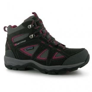 Dámské zimní boty Karrimor Mountain Mid Top, černá/růžová