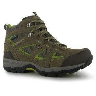 Dámské zimní boty Karrimor Mountain Mid Top - Khaki