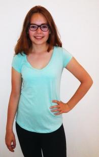 Dámské triko Terranova, modré