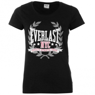 Dámské triko EVELAST - Tmavě šedé