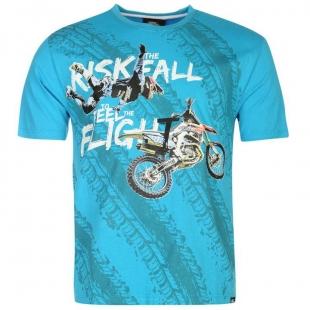 Pánské triko No Fear - Modré