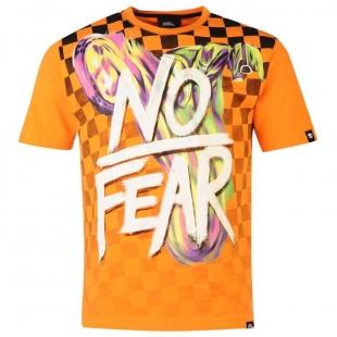 Pánské triko No Fear - Oranžové