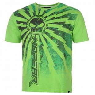 Pánské triko No Fear - Zelené