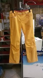 Dámské plátěné kalhoty Northfinder, oranžové