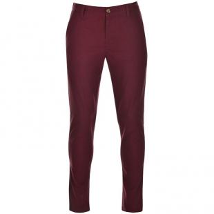 Pánské kalhoty Kangol, vínové
