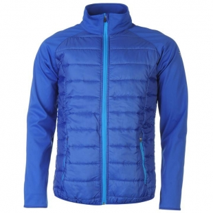 Pánská bunda Everlast Soft Shell, Modrá