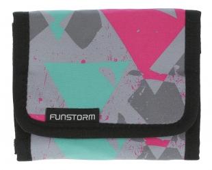 Peněženka Funstorm AU03417 - Šedá