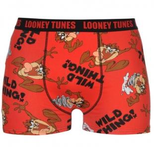 Pánské spodní prádlo Character - Looney Tunes, červené