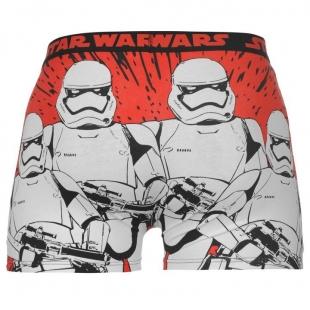 Pánské spodní prádlo Character - Star Wars, červené