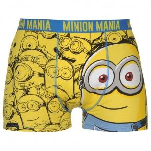 Pánské spodní prádlo Character - Minions, žlutomodré