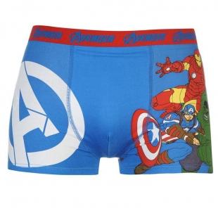 Pánské spodní prádlo Character - Avengers, modré