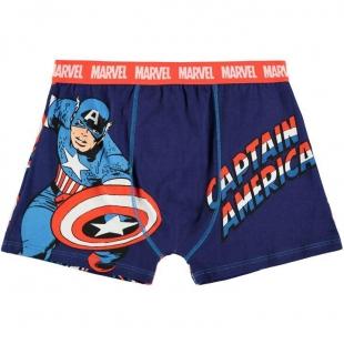Pánské spodní prádlo Character - Kapitán America, tm. modrá