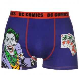 Pánské spodní prádlo Character - DC Comics, tm. modrá