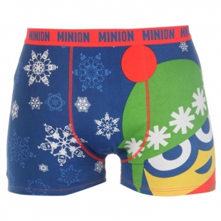 Pánské spodní prádlo Character - Minions, tm.- modré