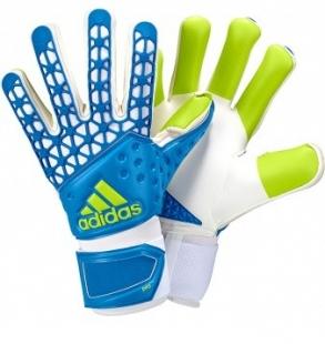 Brankářské rukavice Adidas Ace Zones PRO, modrá-zelená-bílá