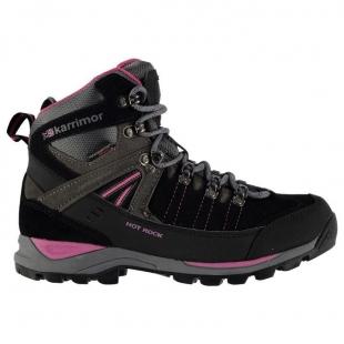 Dámská obuv Karrimor Hot Rock, černá/růžová