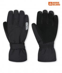Unisex lyžařské rukavice - černé