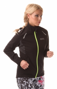 Dámská běžecká bunda NORDBLANC PERFECT - Černá