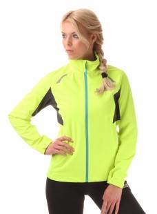 Dámská běžecká bunda NORDBLANC PERFECT - Žlutá