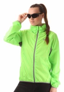 Dámská cyklistická bunda NORDBLANC IMAGINE - Zelená