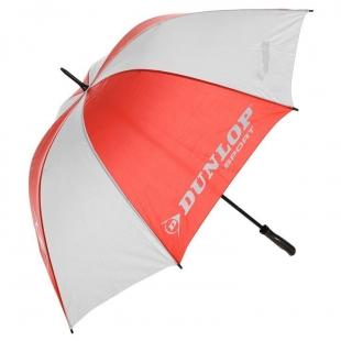 Deštník Dunlop 112cm, červenobílý