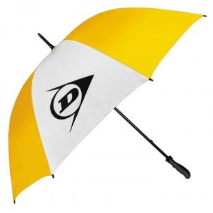 Deštník Dunlop 112cm, žlutobílý