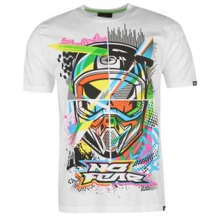 No Fear Moto Graphic T Shirt Mens