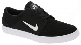 Pánské boty Nike SB Portmore SB Vapor - Black/White
