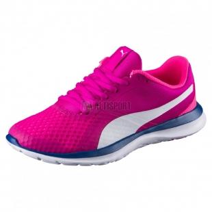 Dámské běžecké boty puma flext1 36238606 dark pink/white