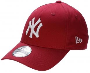 Kšiltovka New Era 39T League Basic MLB New York Yankees - Scarlet White 47c5ab6021