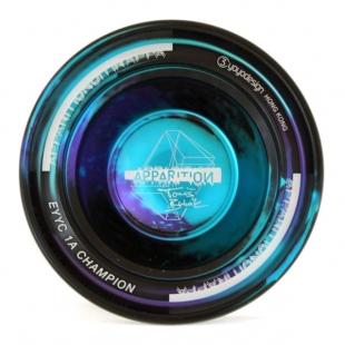 C3yoyodesign APPARITION - černo/modrá (Testovaný produkt)