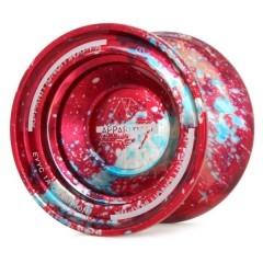 C3yoyodesign APPARITION - červeno/stříbrná  (Testovaný produkt)