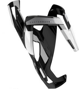ELITE - košík CUSTOM RACE PLUS, černý lesklý/bílý