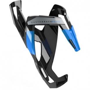 ELITE - košík CUSTOM RACE PLUS, lesklý černý/modrý