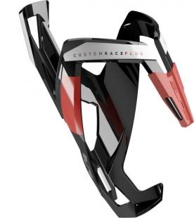ELITE - košík CUSTOM RACE PLUS, černý lesklý/červený