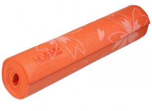 Karimatka Yoga s potiskem 173x61x0,6cm - oranžová