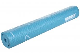Karimatka Yoga s potiskem včetně obalu 173x61x0,4cm - modrá
