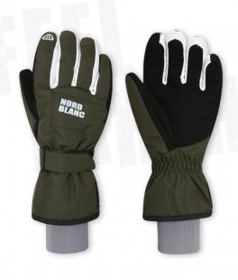 Unisex lyžařské rukavice - zelené