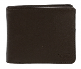 Peněženka Vans Drop V Bifold - Dark Brown