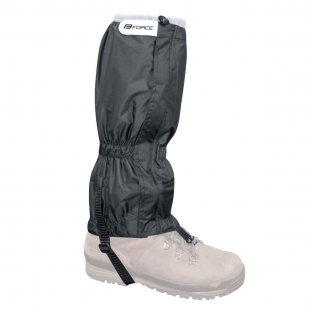 FORCE - návleky SKI RIPSTOP na boty černé