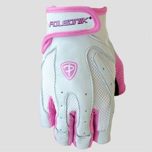 Fitness rukavice LADY PRO barva růžová