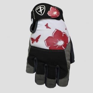 Fitness rukavice FLOWER barva