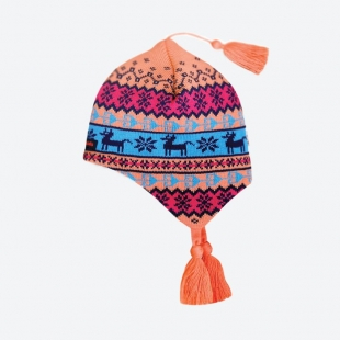 Dětská pletená Merino čepice Kama