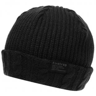 Pánská zimní čepice Firetrap Fisherman Hat 81