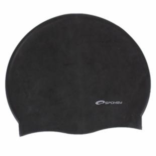 Summer koupací silikonová čepice, černá