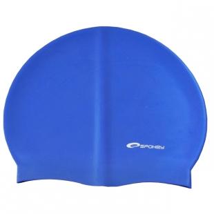 Summer koupací silikonová čepice, modrá