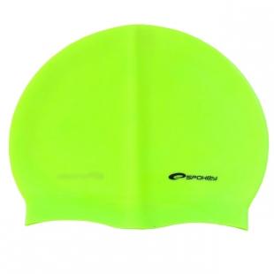 Summer koupací silikonová čepice, žlutá reflexní